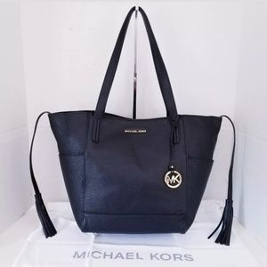 MICHAEL KORS ASHBURY LEATHER SOULDER HANDBAG TOTE